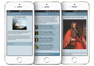 The Classic British Painters demo app