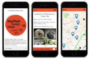 Sheffield Design Week screens