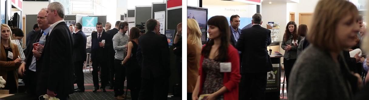 delegates at Venturefest