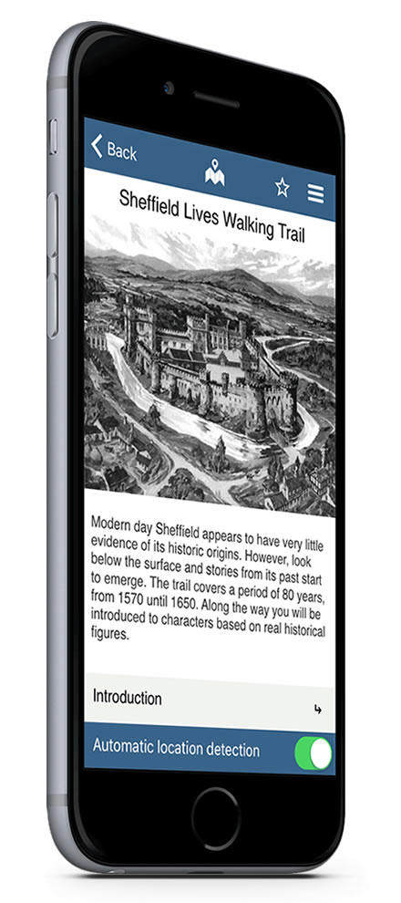 Sheffield Lives Situate app