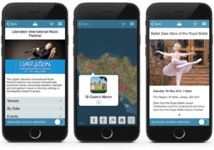 Jersey Liberation Festival Situate app