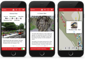 The Crich Tramway Village Situate app