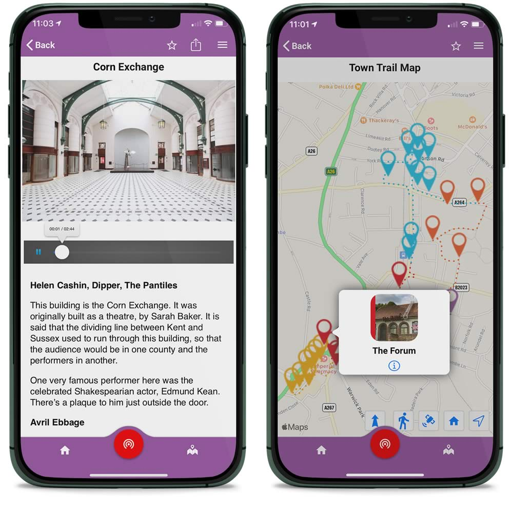 Tales of Tunbridge Wells app